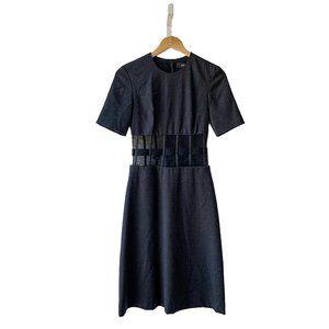 Versus Versace Mesh Cutout Dress
